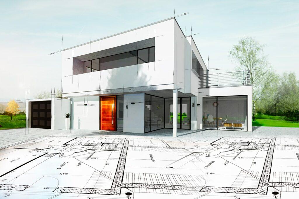 Plan architecte logement neuf