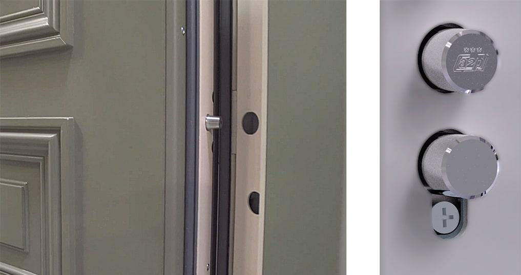 Quels sont les éléments anti-effraction d'une porte blindée