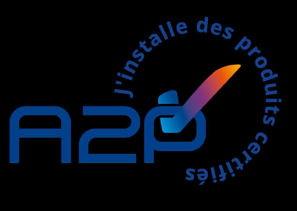 A2P Logo Professionnel Bleu